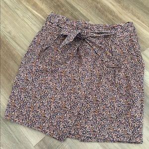 H&M Pleated Miniskirt